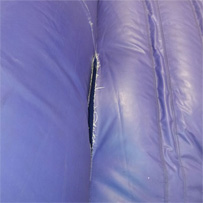 Sturdy Stitches Inflatable Tear Before Image